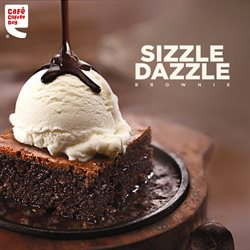Restaurants offers in the Cafe Coffee Day catalogue in Agra