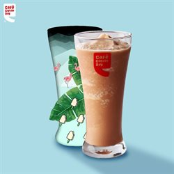 Offers from Cafe Coffee Day in the Delhi leaflet