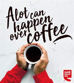 Cafe Coffee Day catalogue ( More than a month )