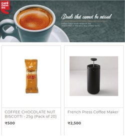 Restaurants offers in the Cafe Coffee Day catalogue ( Expires tomorrow)
