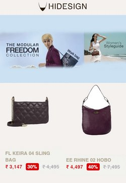 Hidesign offers in the Hidesign catalogue ( 4 days left)