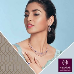 Jewellery offers in the Malabar Gold and Diamonds catalogue ( More than a month)