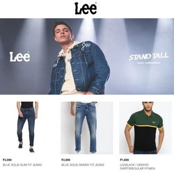 Lee offers in the Lee catalogue ( Expires tomorrow)