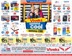 Offers from Viveks in the Chennai leaflet
