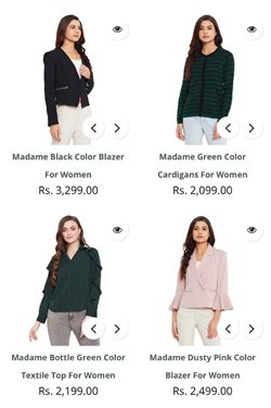 Offers of Top in Madame