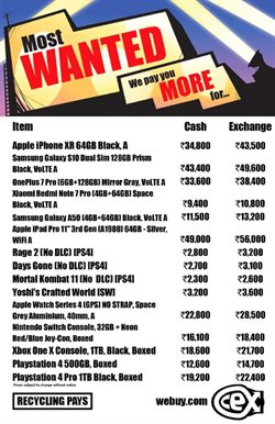 Mobiles & Electronics offers in the CEX catalogue in Delhi