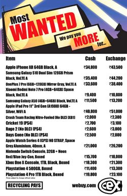 Offers from CEX in the Bangalore leaflet