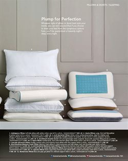 Pillow offers in the Home Centre catalogue in Nashik
