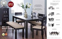 Offers of Table in Home Centre