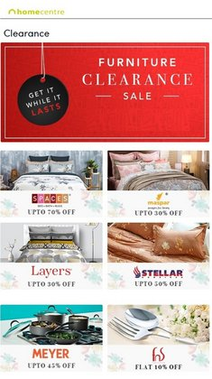 Home & Kitchen offers in the Home Centre catalogue ( 8 days left)