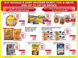 Maggi offers in the Metro catalogue in Jaipur