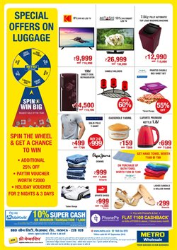Shoes offers in the Metro catalogue in Lucknow