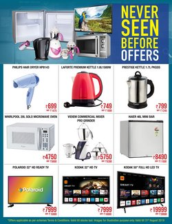 Supermarkets offers in the Metro catalogue in Bangalore