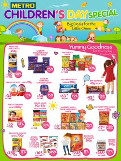 Supermarkets offers in the Metro catalogue in Delhi