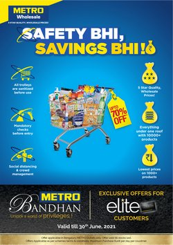 Supermarkets offers in the Metro catalogue ( 17 days left)