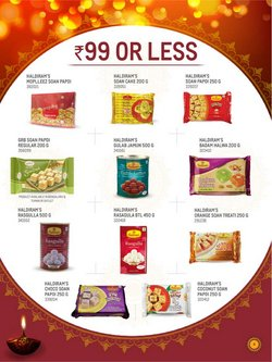 Haldiram's offers in the Metro catalogue ( More than a month)