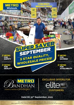 Supermarkets offers in the Metro catalogue ( 5 days left)