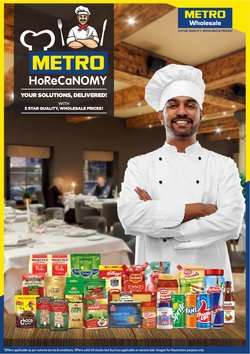 Supermarkets offers in the Metro catalogue ( 3 days left)