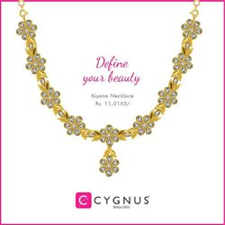 Necklace offers in the Cygnus catalogue in Delhi