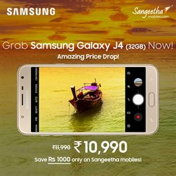 Phones offers in the Sangeetha Mobile catalogue in Delhi
