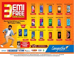 Offers from Sangeetha Mobile in the Ahmedabad leaflet