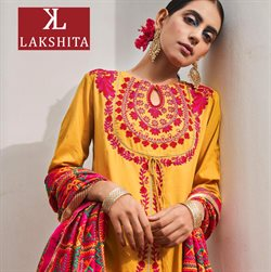 Clothes, shoes & accessories offers in the Lakshita catalogue in Mumbai ( More than a month )