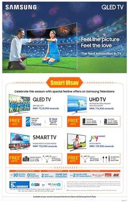 Offers from Samsung in the Kolkata leaflet