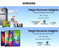 Samsung offers in the Samsung catalogue ( Expired)