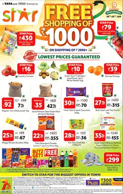 Offers from Star Bazaar in the Hyderabad leaflet