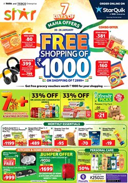 Supermarkets offers in the Star Bazaar catalogue in Hyderabad ( 3 days left )