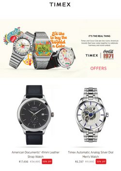 Jewellery offers in the Timex catalogue ( 4 days left)