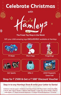 Toys & babies offers in the Hamleys catalogue in Ahmedabad