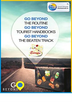 Travel offers in the Thomas Cook catalogue in Delhi