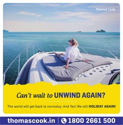 Thomas Cook offers in the Thomas Cook catalogue ( 2 days left)