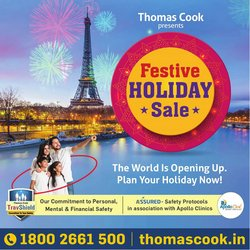 Thomas Cook offers in the Thomas Cook catalogue ( Expires today)