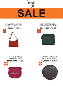 Baggit offers in the Baggit catalogue ( 7 days left)