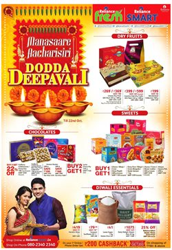 Supermarkets offers in the Reliance Market catalogue in Delhi
