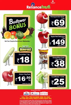 Food offers in the Reliance Fresh catalogue in Delhi