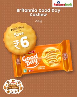 Supermarkets offers in the Reliance Fresh catalogue ( 12 days left )