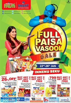 Offers from Reliance Smart in the Mumbai leaflet