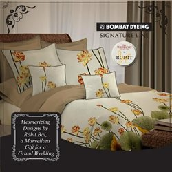 Offers from Bombay Dyeing in the Delhi leaflet