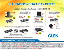 Offers from Glen in the Hyderabad leaflet
