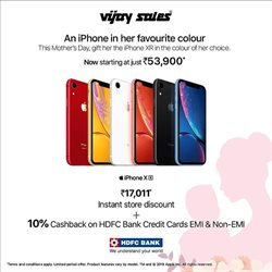 Mobiles & Electronics offers in the Vijay Sales catalogue in Bhavnagar