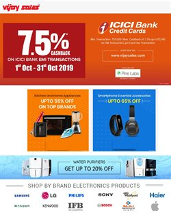 Mobiles & Electronics offers in the Vijay Sales catalogue in Delhi