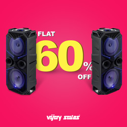 Offers from Vijay Sales in the Ahmedabad leaflet