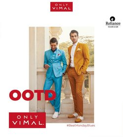 Vimal offers in the Vimal catalogue ( More than a month)
