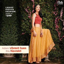 Fashion offers in the fbb catalogue in Delhi