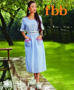 Offers from fbb in the Ahmedabad leaflet