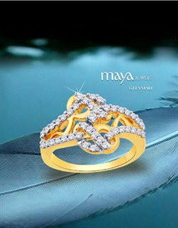 Offers from Maya Jewels in the Mumbai leaflet