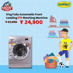 Washing machine offers in the Lulu Connect catalogue in Ahmedabad